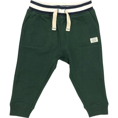 Pink Chicken Beckett Pant 3/6m 19fbrb218b - hunter green