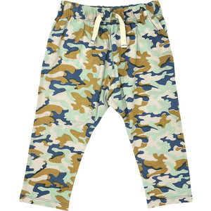 Pink Chicken James Pant 2y silver cloud multi camo