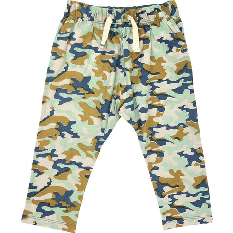 Pink Chicken James Pant 2y 19fbr114a - silver cloud multi camo
