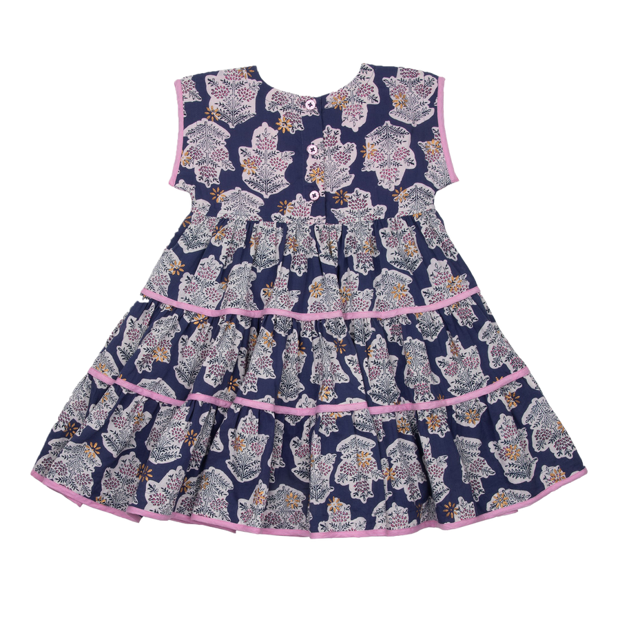 Pink Chicken Peachy Dress 2y blue ribbon jasmine tree - 20espc334a