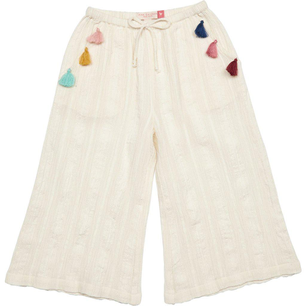 Pink Chicken Pixie Pant 2y antique white - 19spcs227a