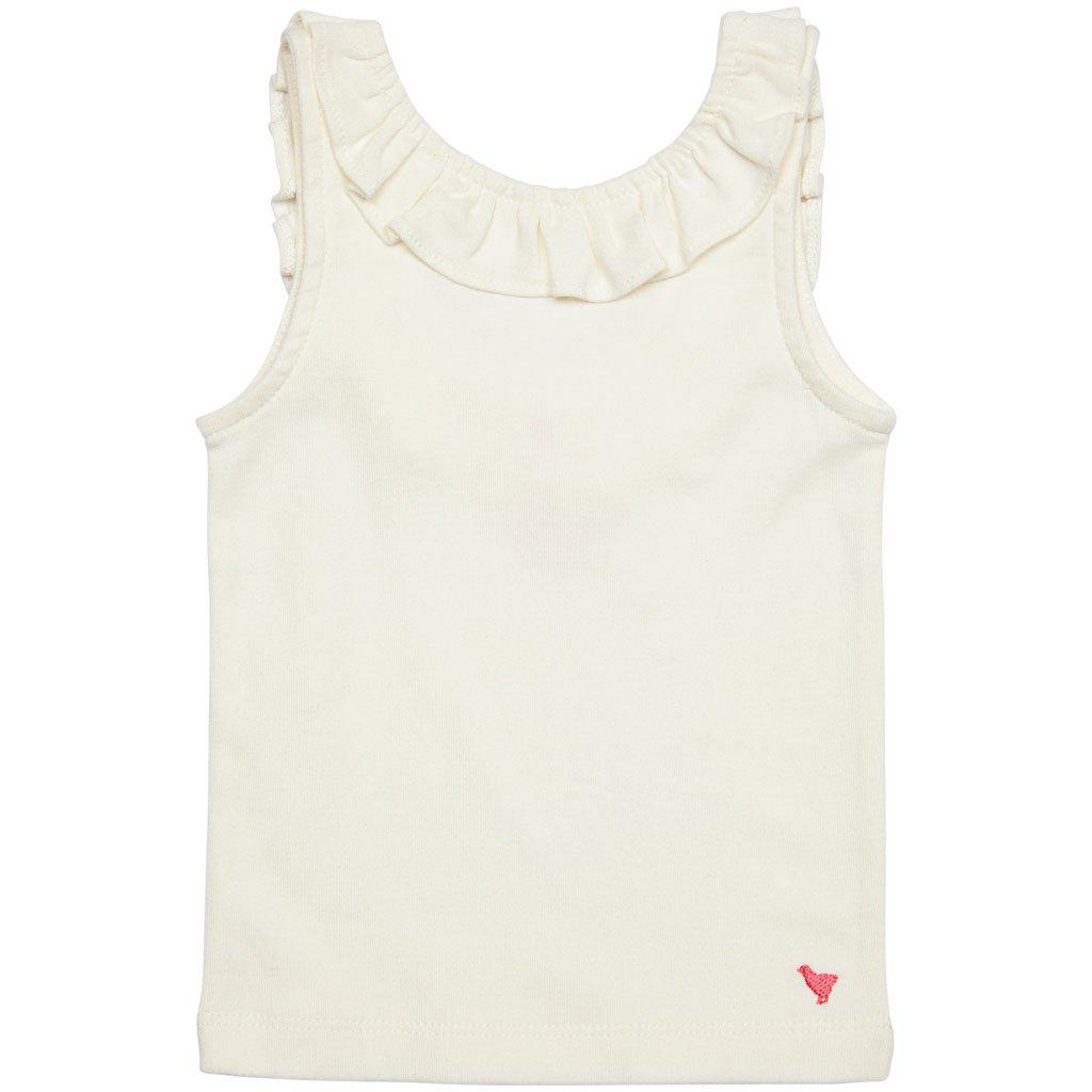 Pink Chicken Princess Diana Tank 2y white - 19spc330a