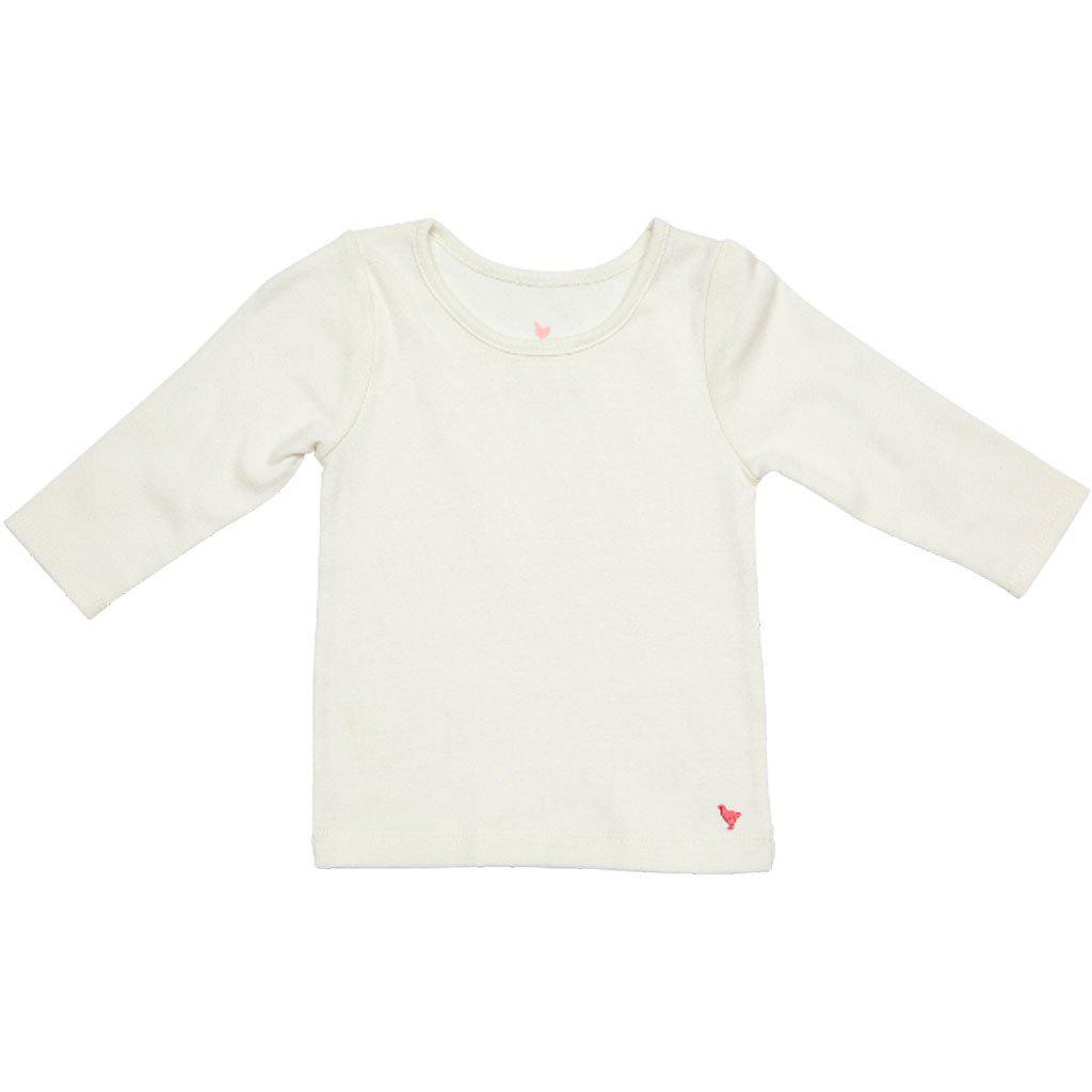 Pink Chicken Rib Top 2y white - 19spc249a