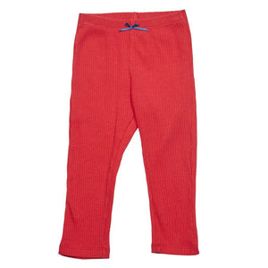 Pink Chicken Baby Rib Legging 3/6m red - 17fpcn831f