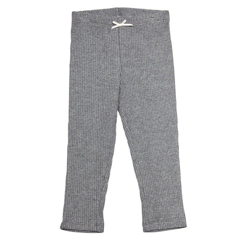 Pink Chicken Baby Rib Legging 3/6m dark grey heather - 17fpcn831j