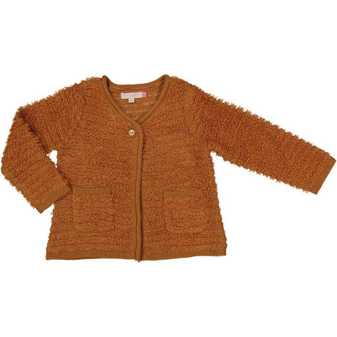 Pink Chicken Sara Sweater 2y rust - 18fpc325b