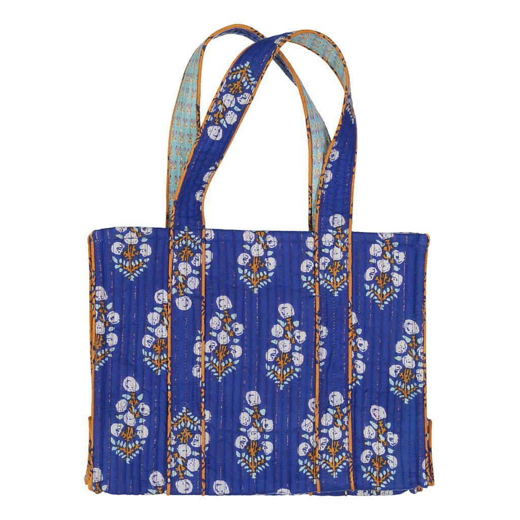 quality quilt shop tote quilted craft online fabrics bag patchwork kit blue sewing kits denim