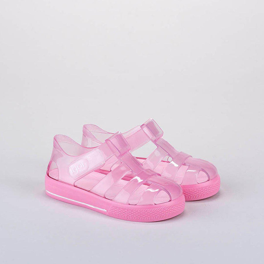 Pink Chicken Star Brillo Shoe - Pink 18