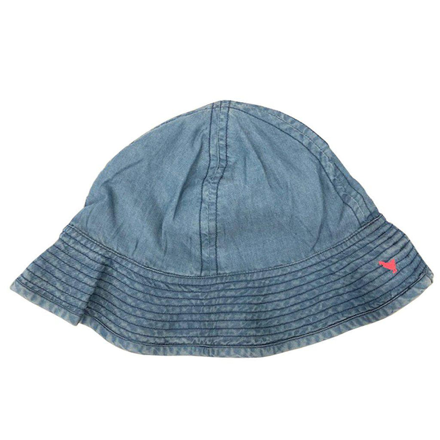 Pink Chicken Sun Hat 2/3y chambray - 19sspca130b