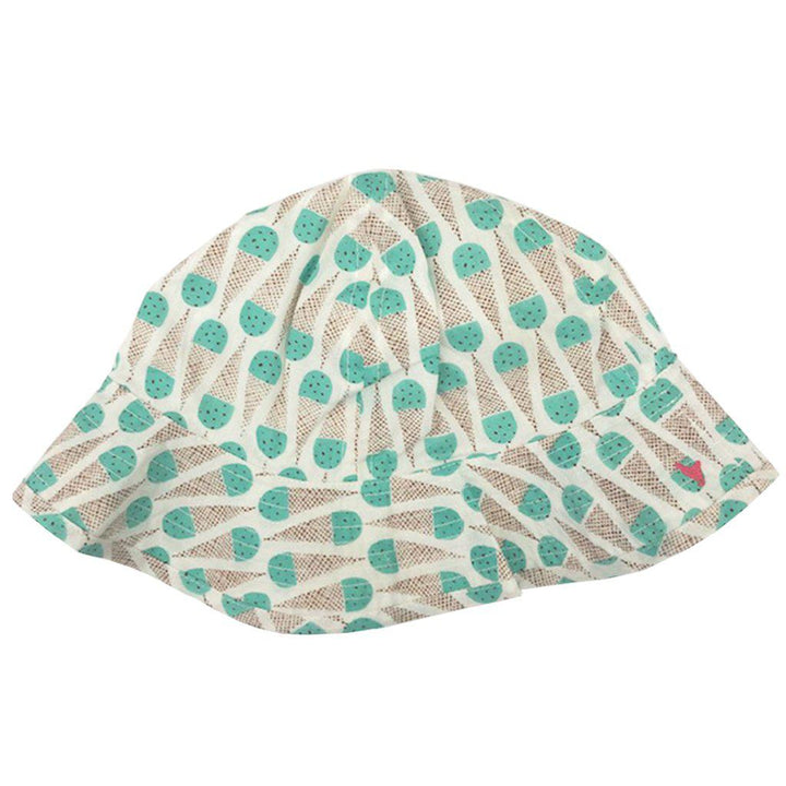 Pink Chicken Sun Hat 2/3y mint chocolate chip - 19sspca130c