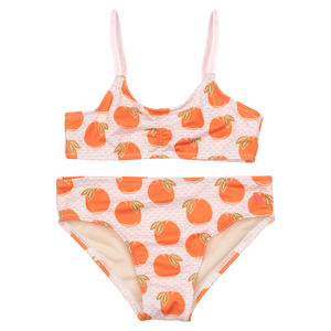 Pink Chicken Poppy Bikini 2y cloud pink oranges