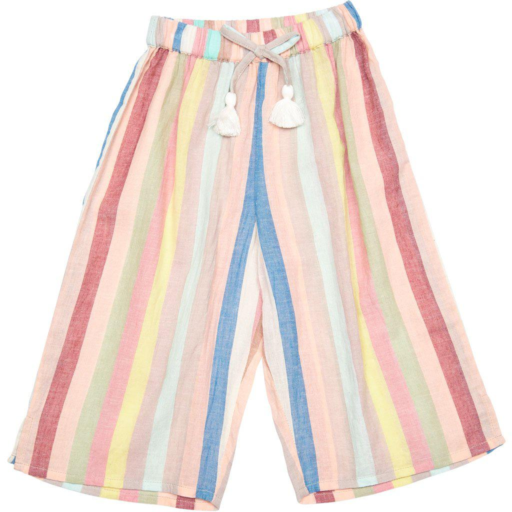 Pink Chicken Theodore Pant 2y multi vintage stripe - 19spc286a