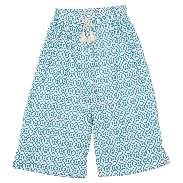 Pink Chicken Theodore Pant 2y turkish tile lattice