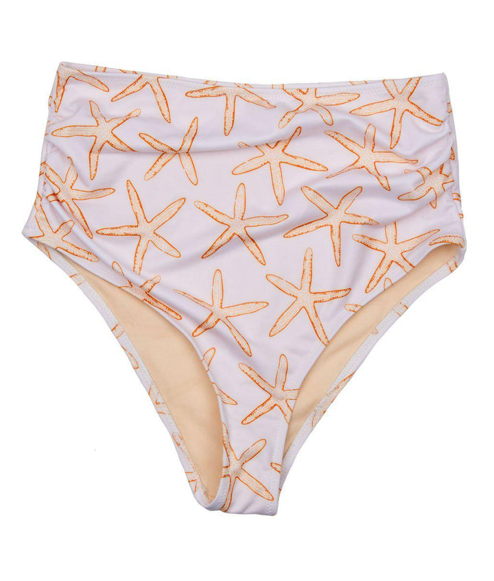Pink Chicken Women's Courtney Tankini Bottom xs inca gold starfish - 19rspcws402a