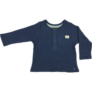 Pink Chicken Wylie Shirt 2y navy