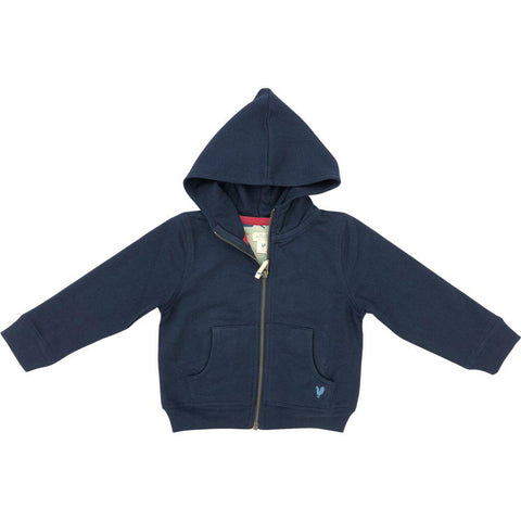 Pink Chicken Zip Hoodie 2y 19fbr117a - dress blues