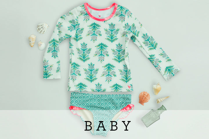 2d7197388 Flatlay of Pink Chicken baby's River 2-piece set in antique white  watermelon print on. Flatlay of Pink Chicken girl's Taylor Dress ...
