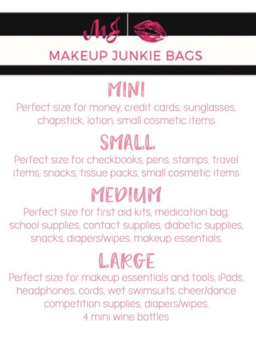 All the Craze About Makeup Junkie Bags \u2013 Camillions