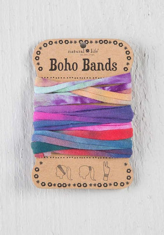 Natural Life Boho Bands Tie-Dye Multi