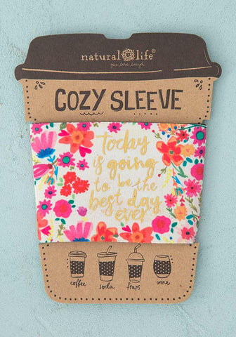 Natural Life Cozy Sleeve - Best Day Ever