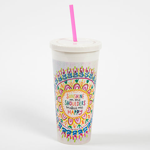 Natural Life On the Go Tumbler - Sunshine