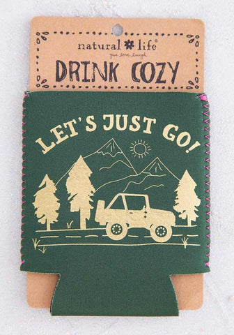 Natural Life Let's Just Go! Drink Cozy