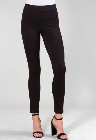 Simply Noelle Chino Pants - Black