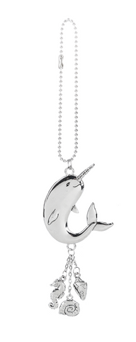 Camillions Narwhal Car Charm