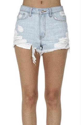 Camillions Light Denim Jean Shorts
