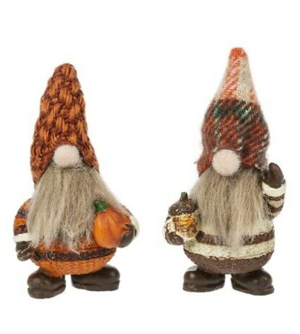 Camillions Little Good Luck Autumn Gnome Pocket Charm