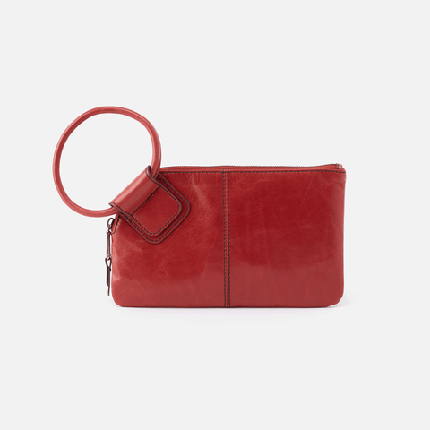 Hobo Sable Wristlet  - Brick