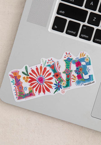 Natural Life Sticker  - LOVE