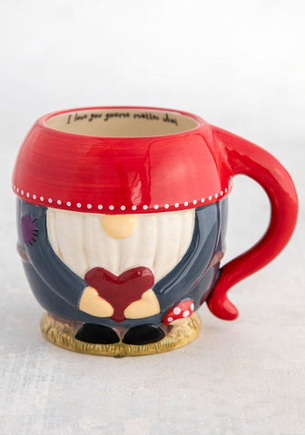 Natural Life Mug - Love You Gnome Matter What