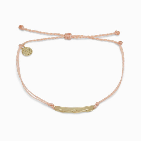 Pura Vida Into the Waves Bracelet - Blush