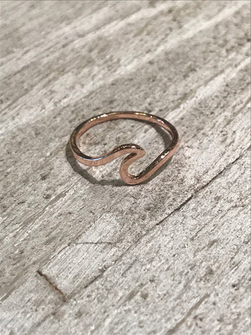 Wave Ring Rose Gold - Assorted Sizes