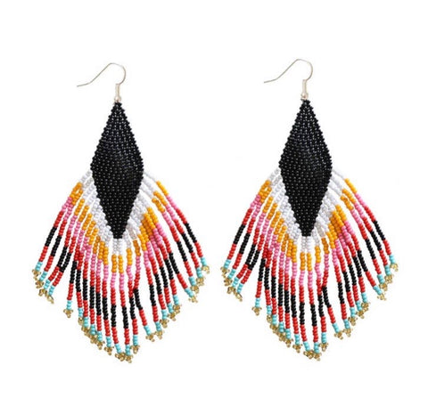 Camillions Embera Beaded Earrings - Nativo
