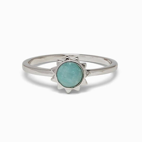 Pura Vida Sunkissed Ring - Silver