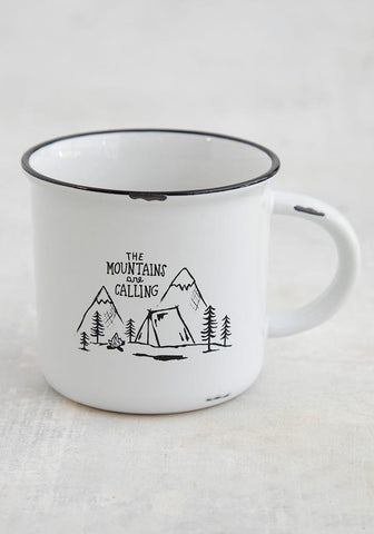 Natural Life Mug - The Mountains Are Calling