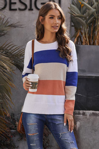 Camillions Catching Feels Colorblock Sweater