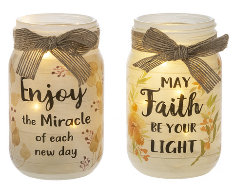 Camillions Light Up Twinkle Mason Jars
