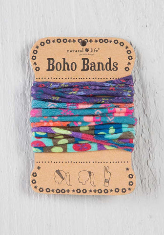 Natural Life Boho Bands - Purple/Aqua/Multicolor