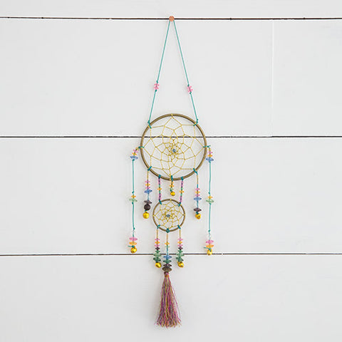 Natural Life Beaded Dream Catcher