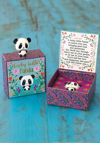 Natural Life Lucky Little Charms - Panda