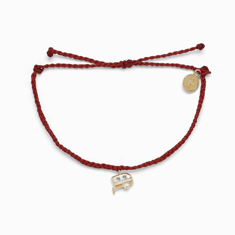 Pura Vida On the Road Bracelet - Dark Red