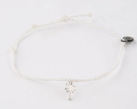Pura Vida Palm Tree - White