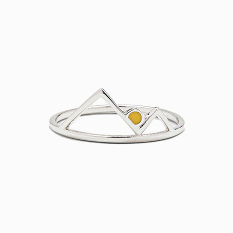 Pura Vida Sunrise Ring - Silver