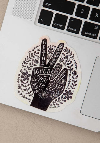 Natural Life Sticker  - Be the Good
