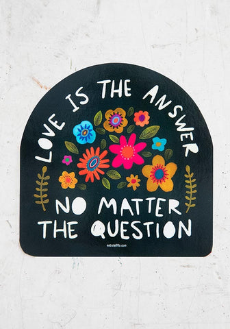Natural Life Sticker  - Love is the Answer