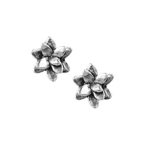 Tomas Succulent Sterling Silver Earrings