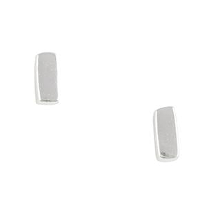 Tomas Small Bar Post Sterling Silver Earrings
